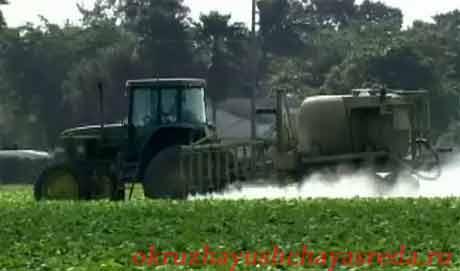 Загрязнение почв пестицидами