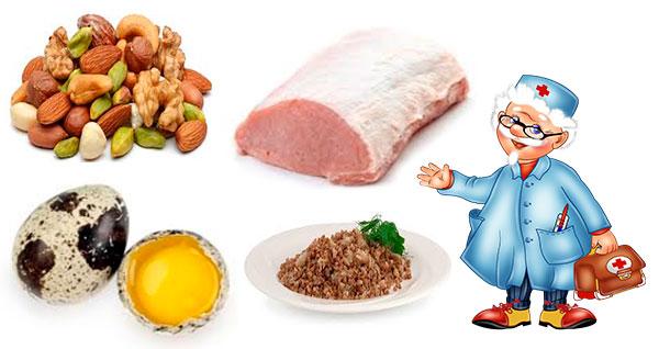 Какие продукты повышают гемоглобин