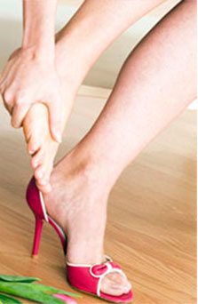 боль в ступне под пальцами выигрыше таблице или